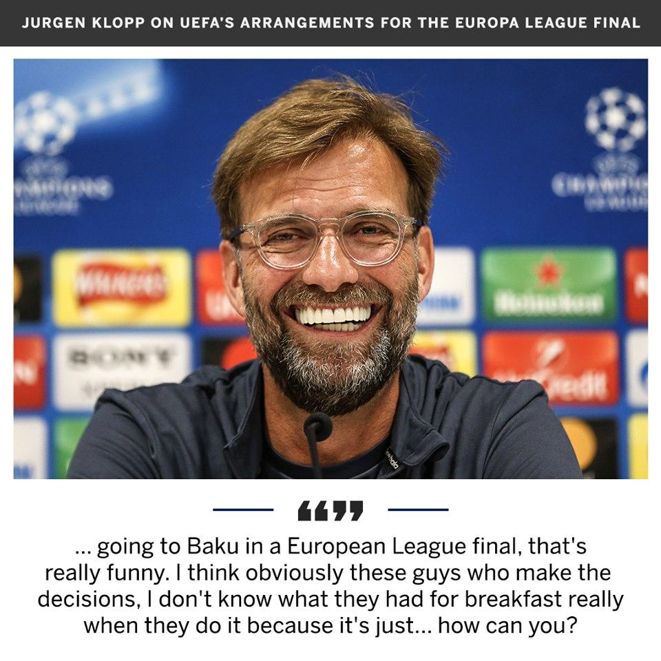 'Họ ăn sáng bằng gì mà tổ chức CK Europa League ở Baku?' - Bóng Đá