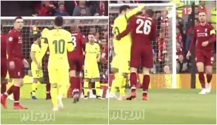 SỐC NẶNG! Messi tẩn Robertson ngay trong trận Liverpool 4-0 Barca - Bóng Đá