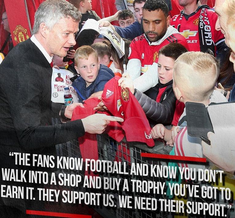 'Họ biết Man Utd không thể vào cửa hàng để mua danh hiệu' - Bóng Đá