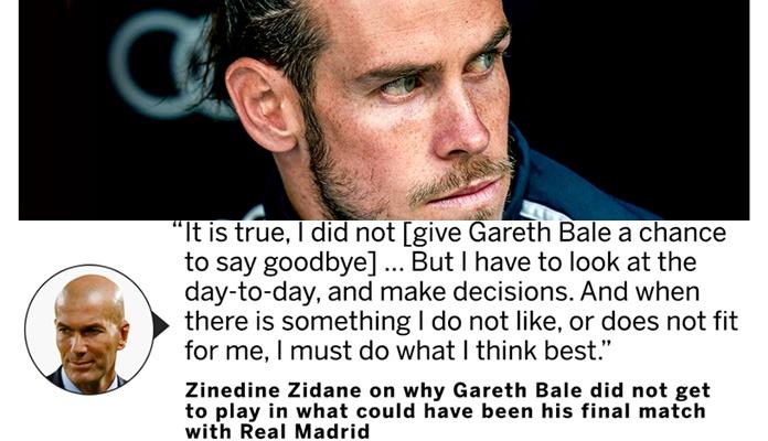 Lửa thiêu Berna-Bale; Zidane huỷ diệt học trò với tuyên bố tàn nhẫn! - Bóng Đá