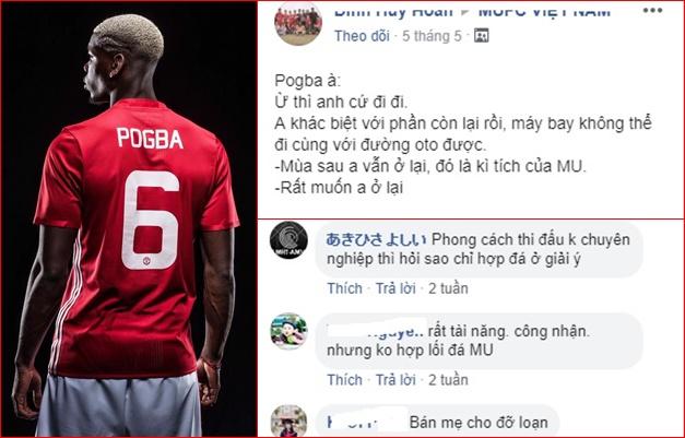 Khổ như NHM Man Utd, không biết nên theo hay bỏ Pogba? - Bóng Đá