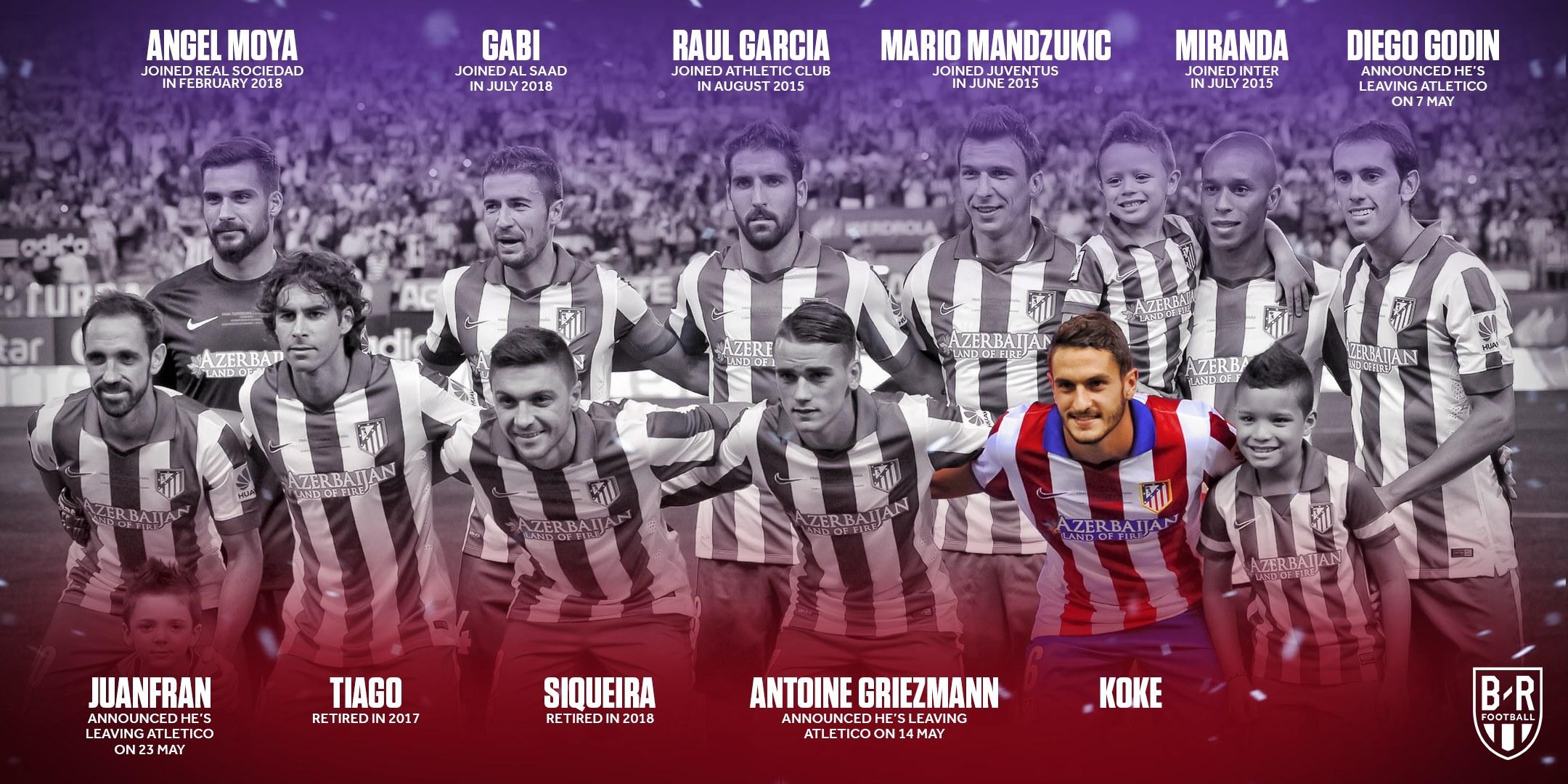 Juanfran rời đi, Atletico chỉ còn 1 cái tên ở chung kết Champions League 2014 - Bóng Đá