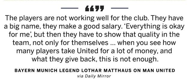 Lothar Matthaus nói về Man Utd - Bóng Đá
