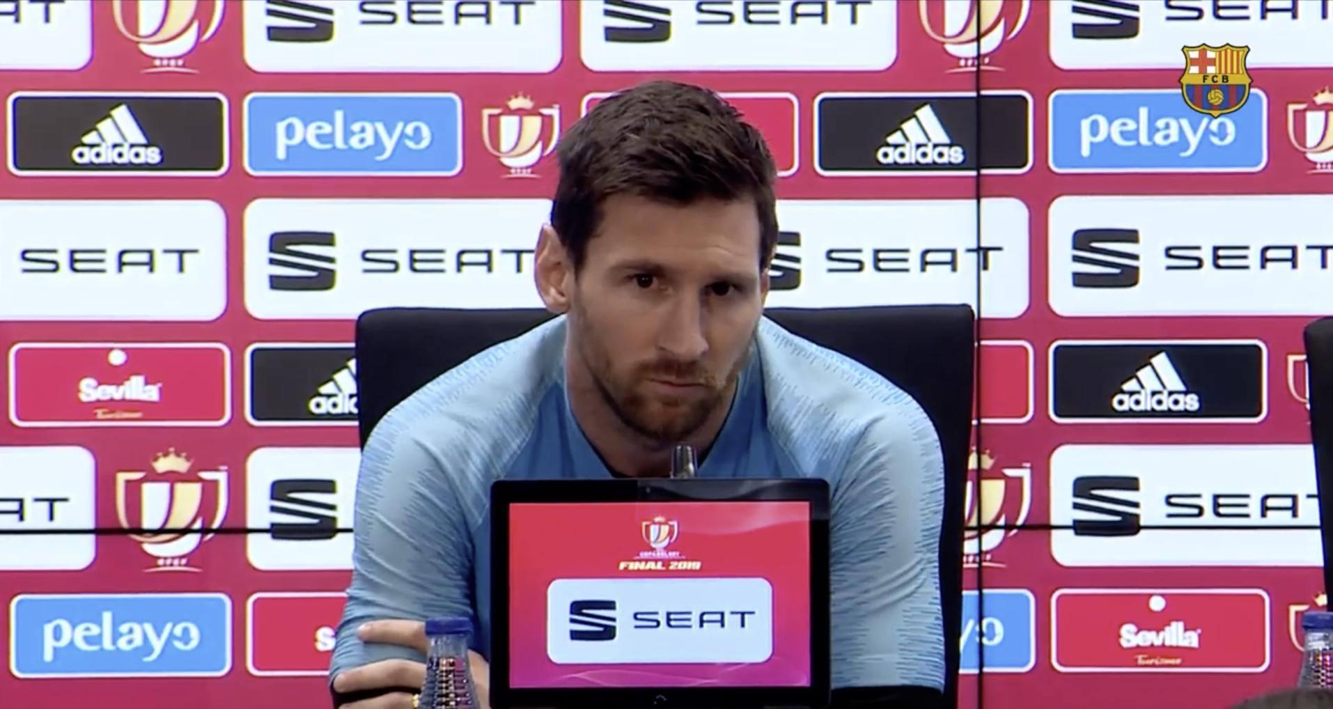 Sau tất cả, Messi nói lời thật lòng về Valverde - Bóng Đá