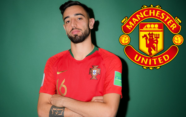 Manchester United will announce the signing of Portugal midfielder Bruno Fernandes after the Nations League finals. - Bóng Đá