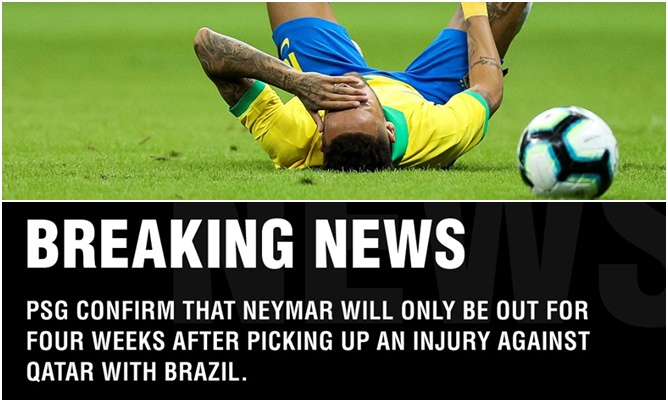 XONG! Đã rõ mức độ chấn thương của Neymar, - Bóng Đá