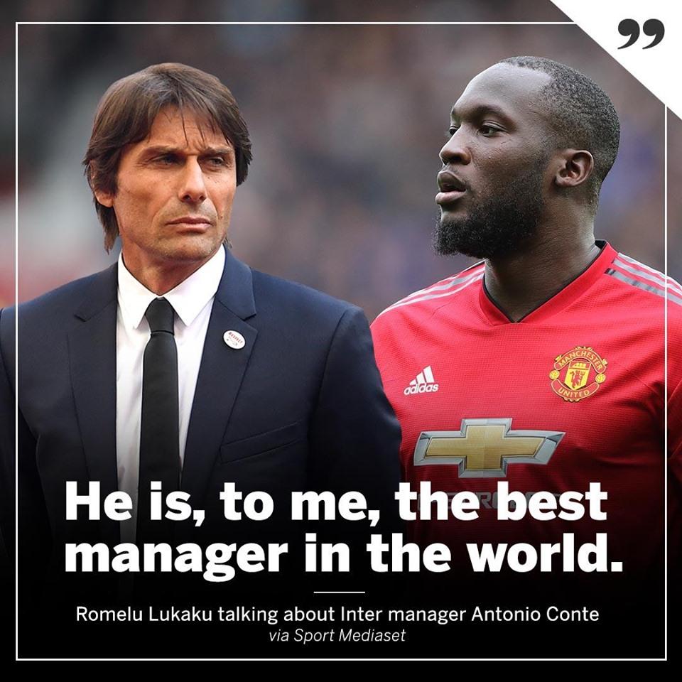 Chưa làm trò Conte, tại sao Lukaku biết ông giỏi nhất? - Bóng Đá