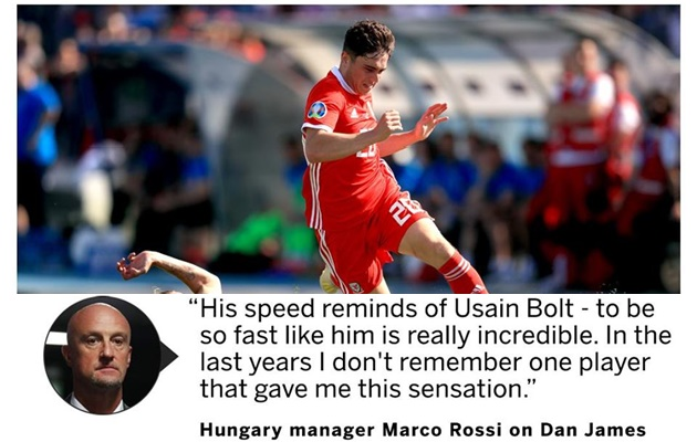 Hungary Coach - Marco Rossi on Daniel James - Bóng Đá