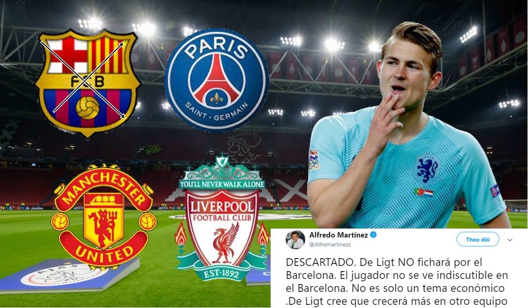 Biến lớn vụ De Ligt: Barca đã