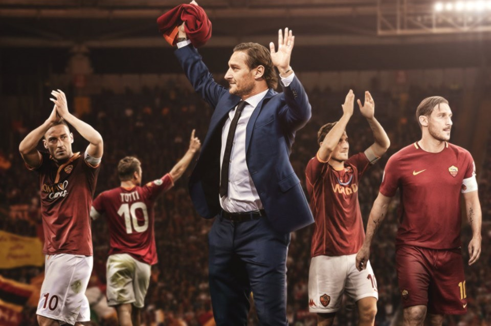 BREAKING: Francesco Totti announces he will leave his role as technical director at AS Roma, ending a 30-year relationship with the club. - Bóng Đá