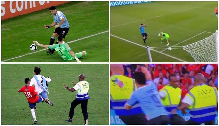 Luis Suarez was at his peak last night... handball to goalkeeper - Bóng Đá