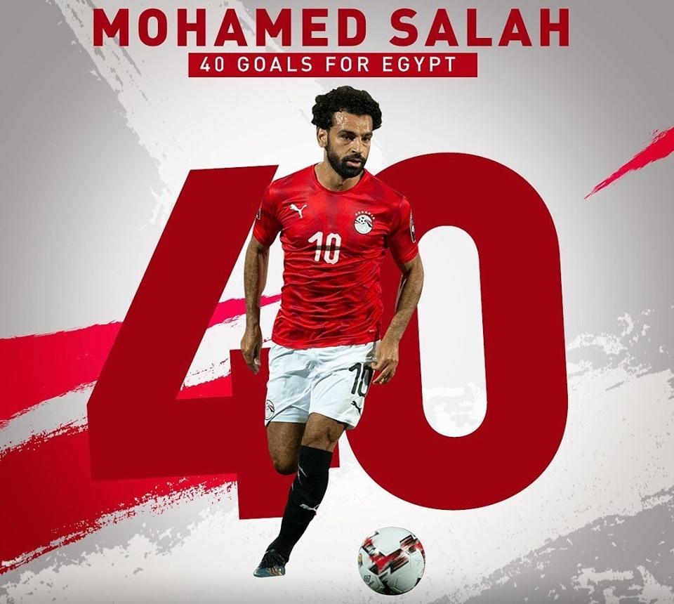 Mohamed Salah đi vào lịch sử ĐT Ai Cập - Bóng Đá