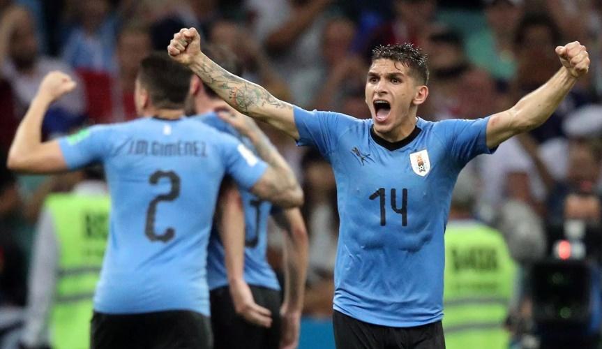 Uruguay bị loại, Arsenal vô tình biết được