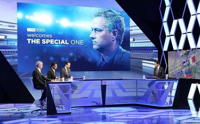 Jose Mourinho đang