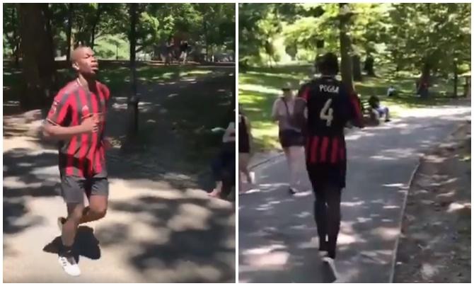 Pogba bất ngờ mặc áo số 4, mặc kệ tin đồn rời Man Utd - Bóng Đá