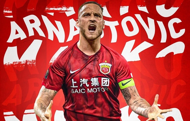 DONE DEAL: West Ham have confirmed Marko Arnautovic has completed a move to Shanghai SIPG for a reported fee of £23m. - Bóng Đá