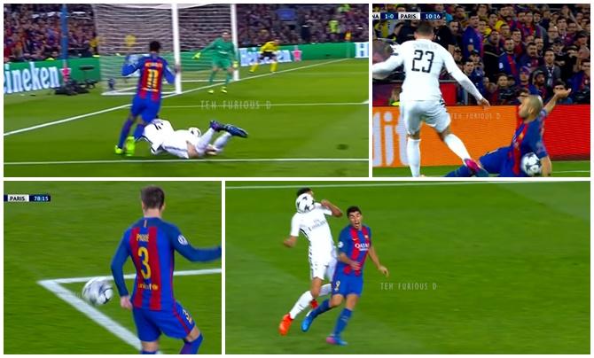Thiago Silva hits back  Messi - Bóng Đá