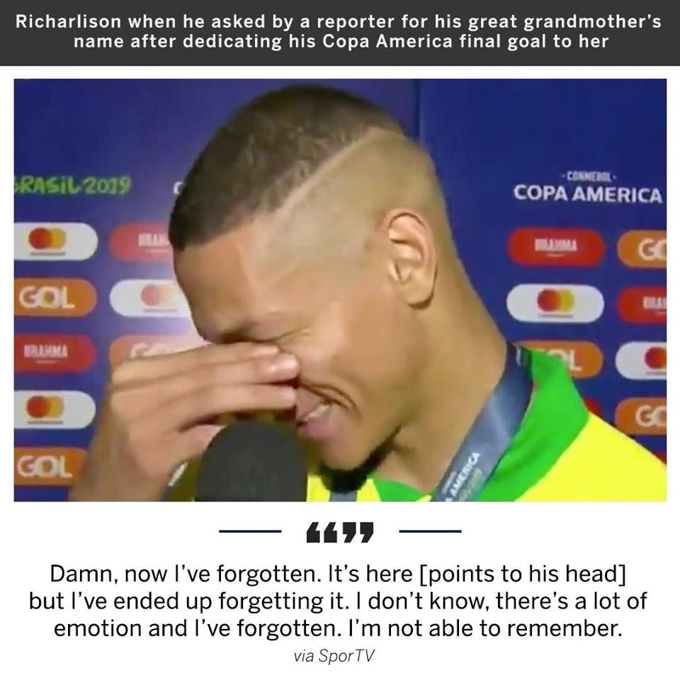 SỐC! Sao Brazil tặng bàn thắng cho người anh không nhớ tên - Bóng Đá