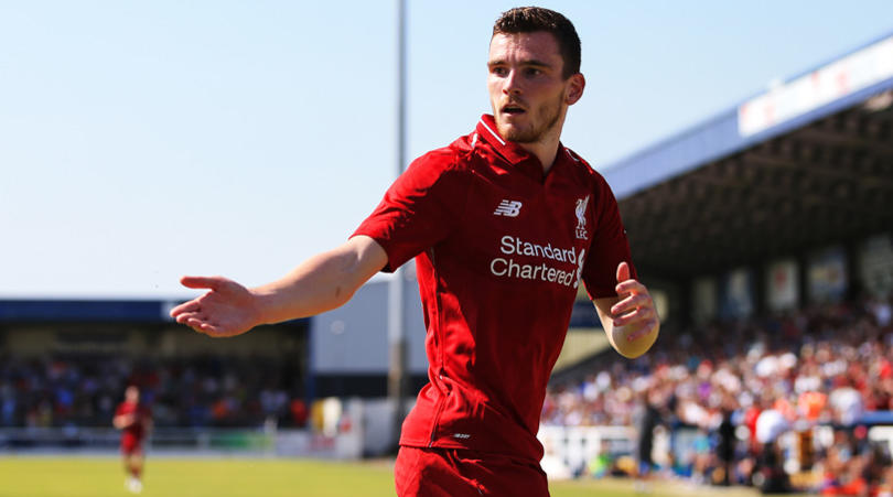 Andy Robertson's Liverpool pre-season delayed by hand infection - Bóng Đá