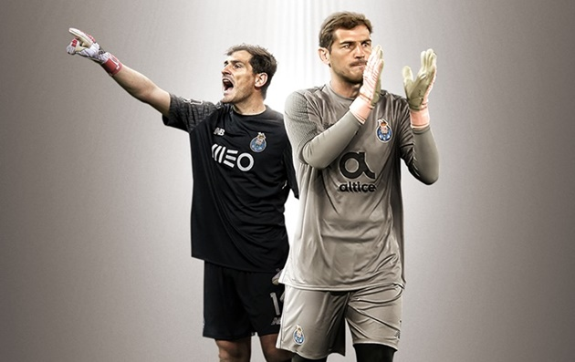 OFFICIAL: Porto confirm that Iker Casillas will work with the club's non-playing staff while he recovers from his health problems - Bóng Đá