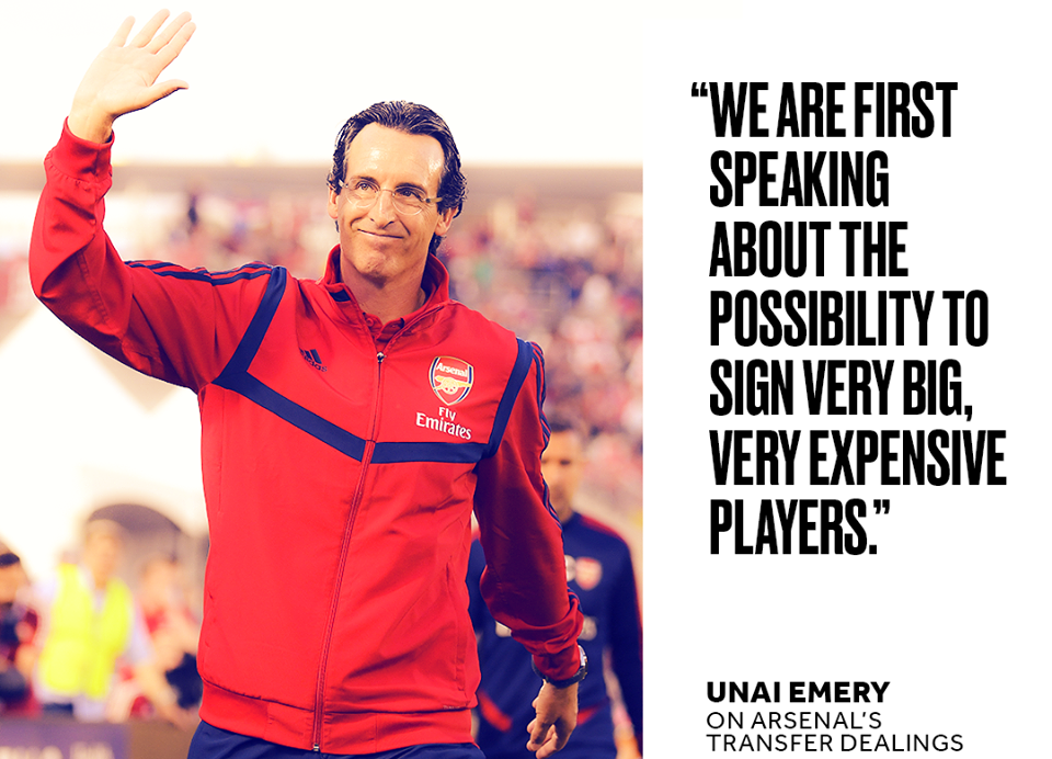 Unai Emery on transfer dealings - Bóng Đá