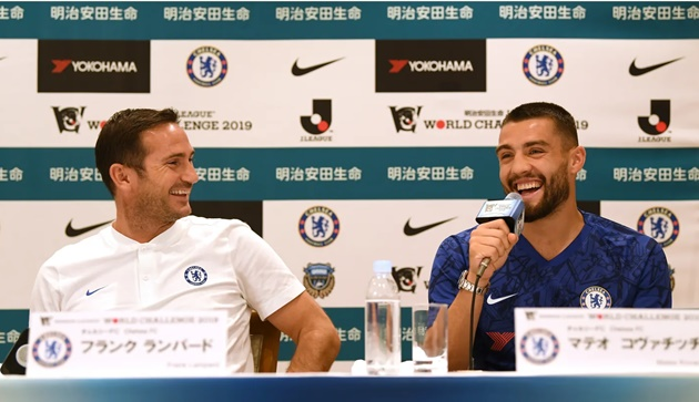 KOVACIC ON LEARNING FROM LAMPARD AND A WARM WELCOME IN JAPAN - Bóng Đá