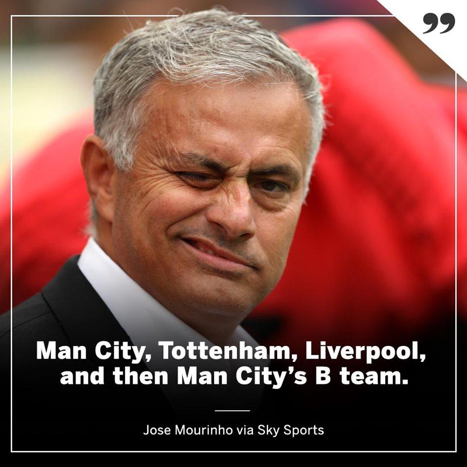 Man Utd chưa ra sân, Mourinho trù ẻo bằng