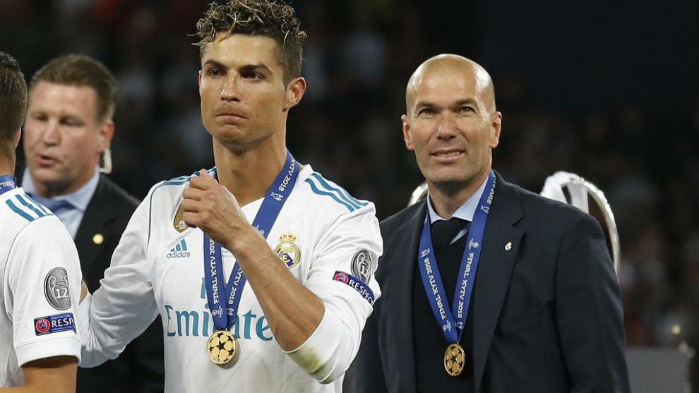 Ronaldo on Zidane - Bóng Đá