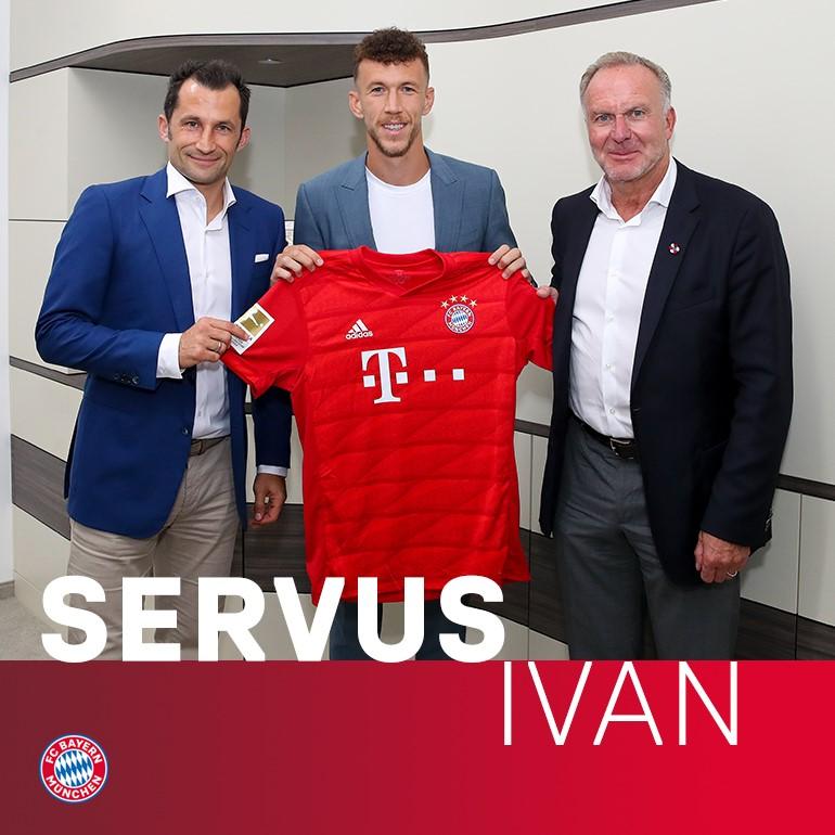 Perisic đến Bayern munich - Bóng Đá