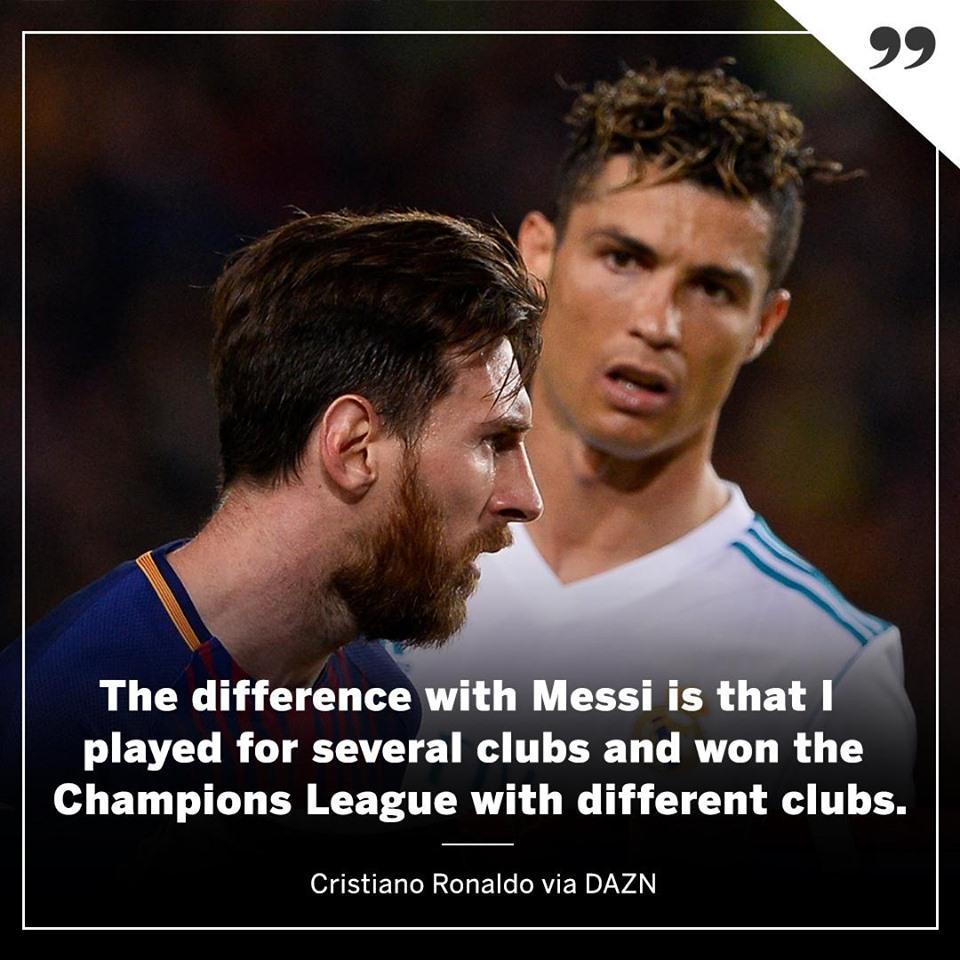 NÓNG! Ronaldo tuyên bố sự khác biệt
