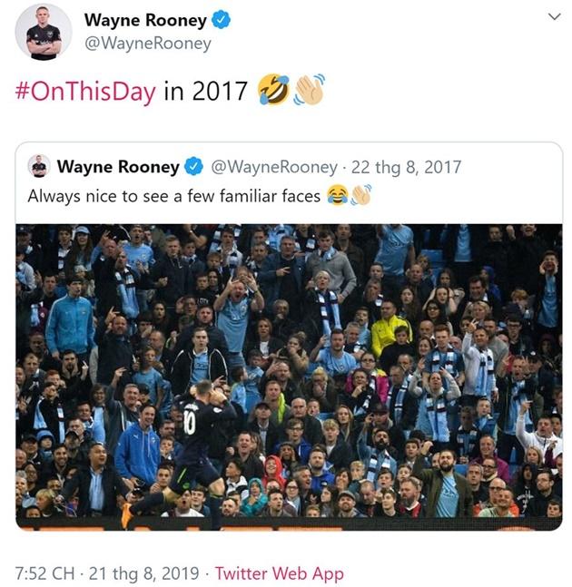 Rooney chọc tức fan Man City - Bóng Đá