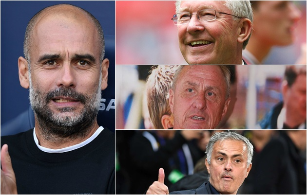 Pep Guardiola on the best managers - Bóng Đá
