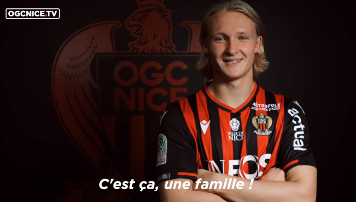OFFICIAL: Nice have announced the signing of Kasper Dolberg from Ajax for €20m. - Bóng Đá