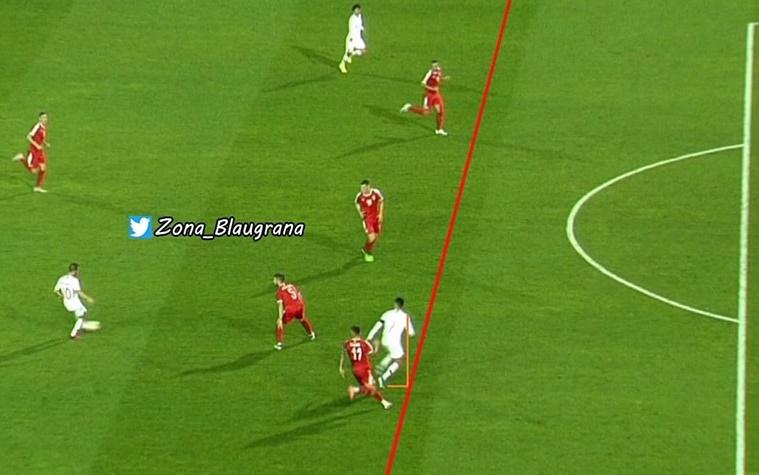 Ronaldo đã việt vị trước khi ghi bàn vào lưới Serbia - Bóng Đá
