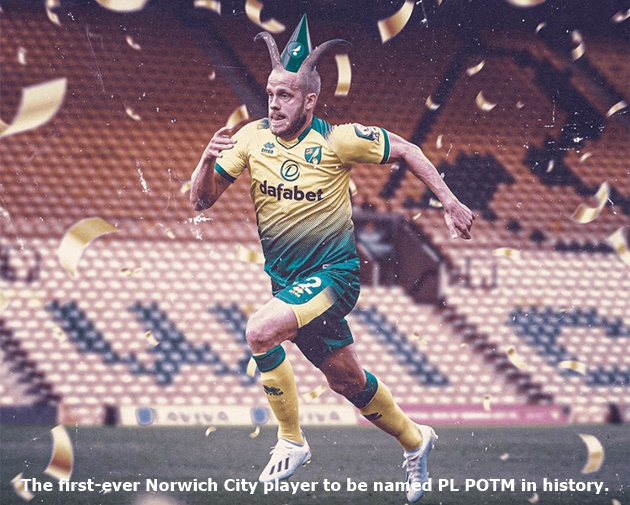 Congratulations to Player of the Month for August… Teemu Pukki  - Bóng Đá