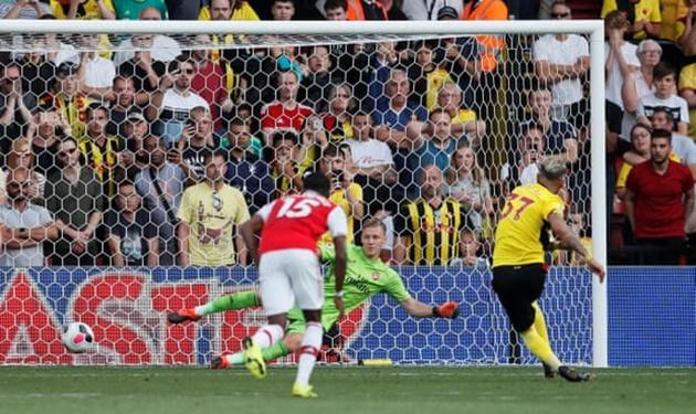 Để Watford sút 31 quả, Opta cũng phải 'chào thua' trước Arsenal - Bóng Đá