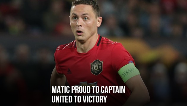 MATIC PROUD TO CAPTAIN UNITED TO VICTORY - Bóng Đá