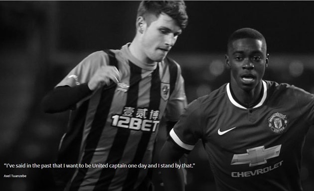 """Tuanzebe: """"I've said in the past that I want to be United captain one day and I stand by that. - Bóng Đá"""