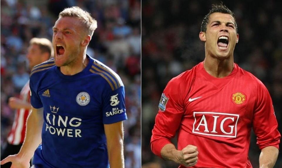 Sau Van Nistelrooy, đến lượt Ronaldo bị Vardy vượt mặt - Bóng Đá