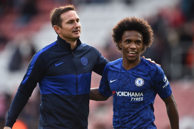 WILLIAN ON LAMPARD, FINDING FREEDOM AND THE HUNT FOR TITLES - Bóng Đá
