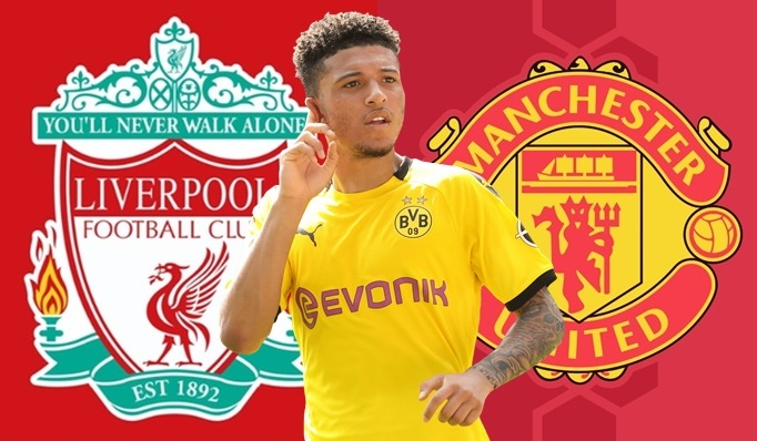 Liverpool legend Dieter Hamann claims United could have some competition in the form of the Reds though. (Jadon Sancho) - Bóng Đá