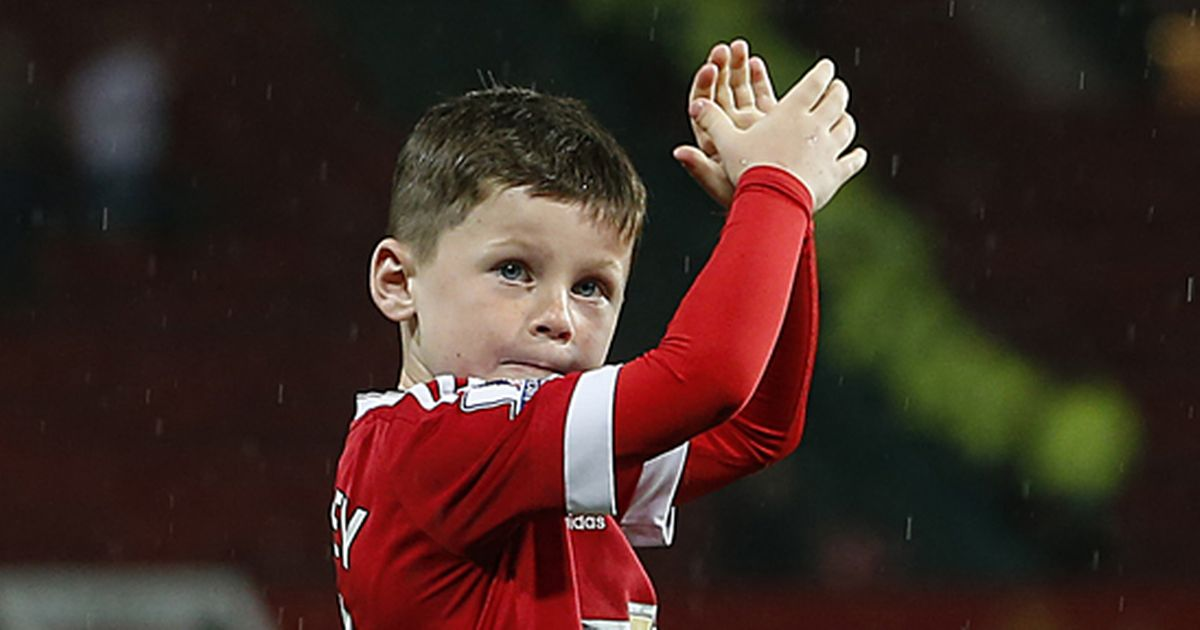 Rooney's son Kai set to join Manchester City's academy!  - Bóng Đá