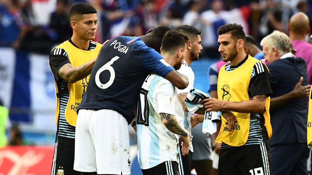 Pogba on Messi - Bóng Đá