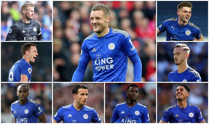 Bán Maguire cho Man Utd, đội hình Leicester vẫn khủng cỡ nào? - Bóng Đá