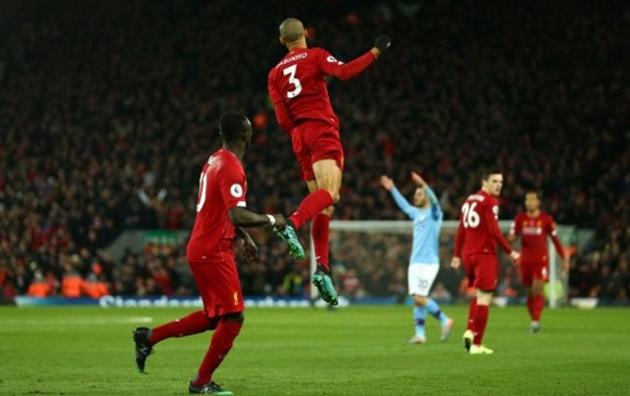 Virgil van Dijk explains why he didn't celebrate Liverpool's first goal vs Manchester City - Bóng Đá