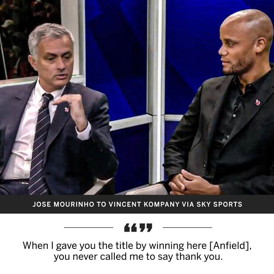 SỐC! Mourinho công khai thừa nhận dâng chức vô địch cho Man City - Bóng Đá