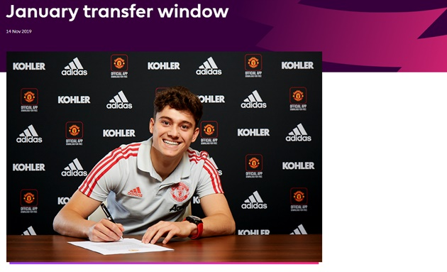 Dates confirmed for 2020 January transfer window - Bóng Đá