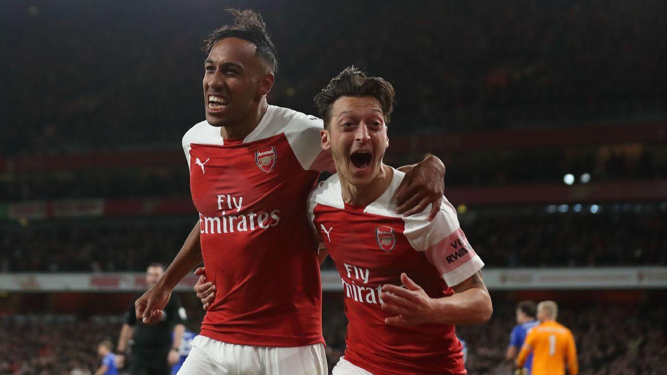 Emery tiết lộ thứ tự đội trưởng của Arsenal: Ozil thứ mấy? - Bóng Đá