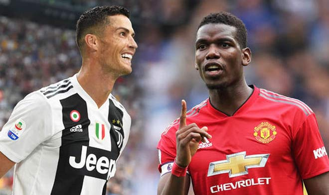 Cristiano Ronaldo approves Juventus' transfer move for Manchester United star Paul Pogba - Bóng Đá