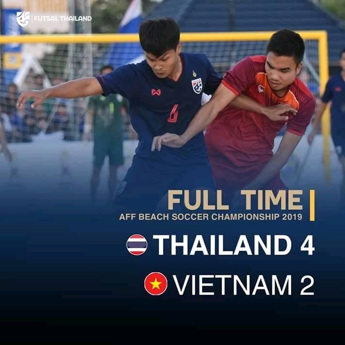 AFF BEACH SOCCER CHAMPIONSHIP 2019 Thái Lan 4-2 Việt Nam - Bóng Đá